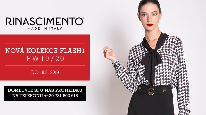 RINASCIMENTO FW19/20 FLASH 1