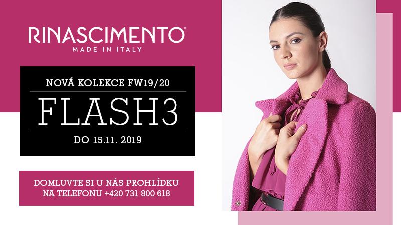 Poslední kolekce FW19 - Flash 3 - v Brně