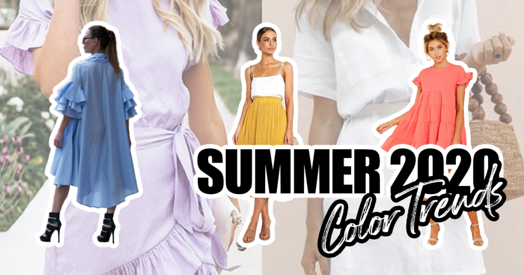Summer 2020 – color trends