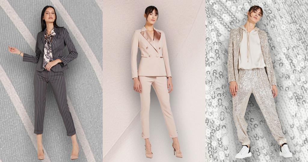 Trend v podobě dámských obleků