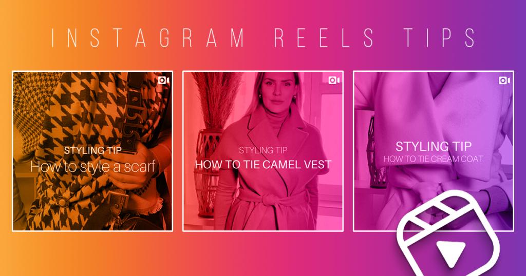 3 instagramové Reels tipy